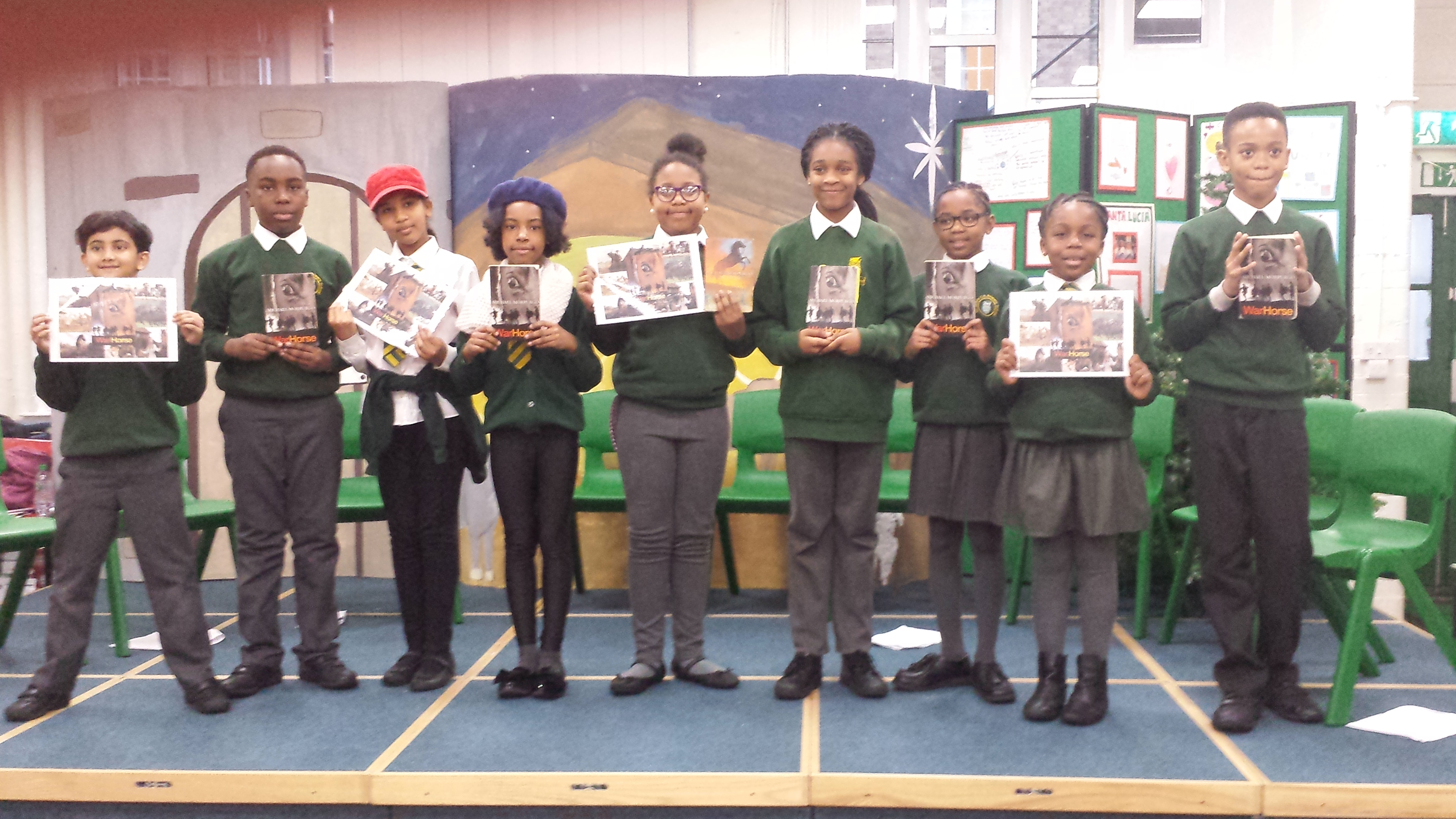 Multi-year group studied War Horse by Michael Morpurgo